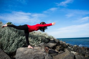 Virabhadrasana 3 - Leg, leg, leg strength!