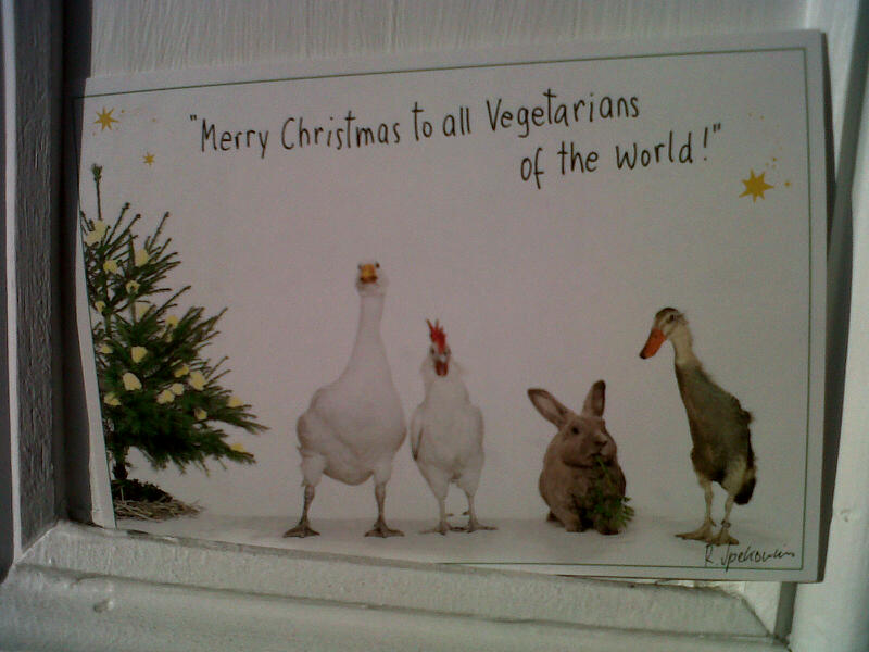 Merry Xmas to all Veggies!