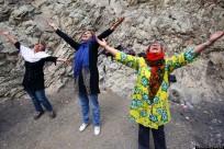 Mideast Iran Laughter Yoga