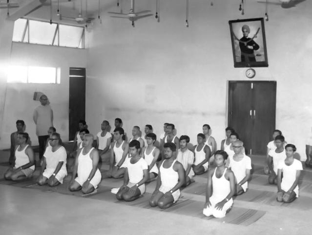 Classes at the Yoga Institute
