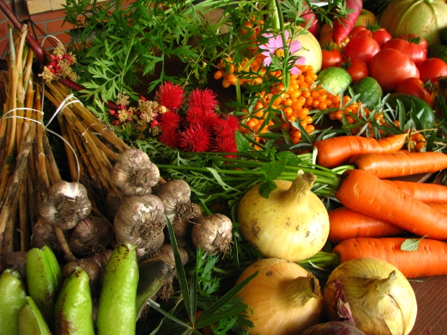 Organic veggies - get them from the market without leaving the house!