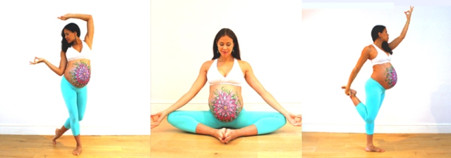 Mercedes Ngoh, also known for her videos showing inversions just before and after birth.