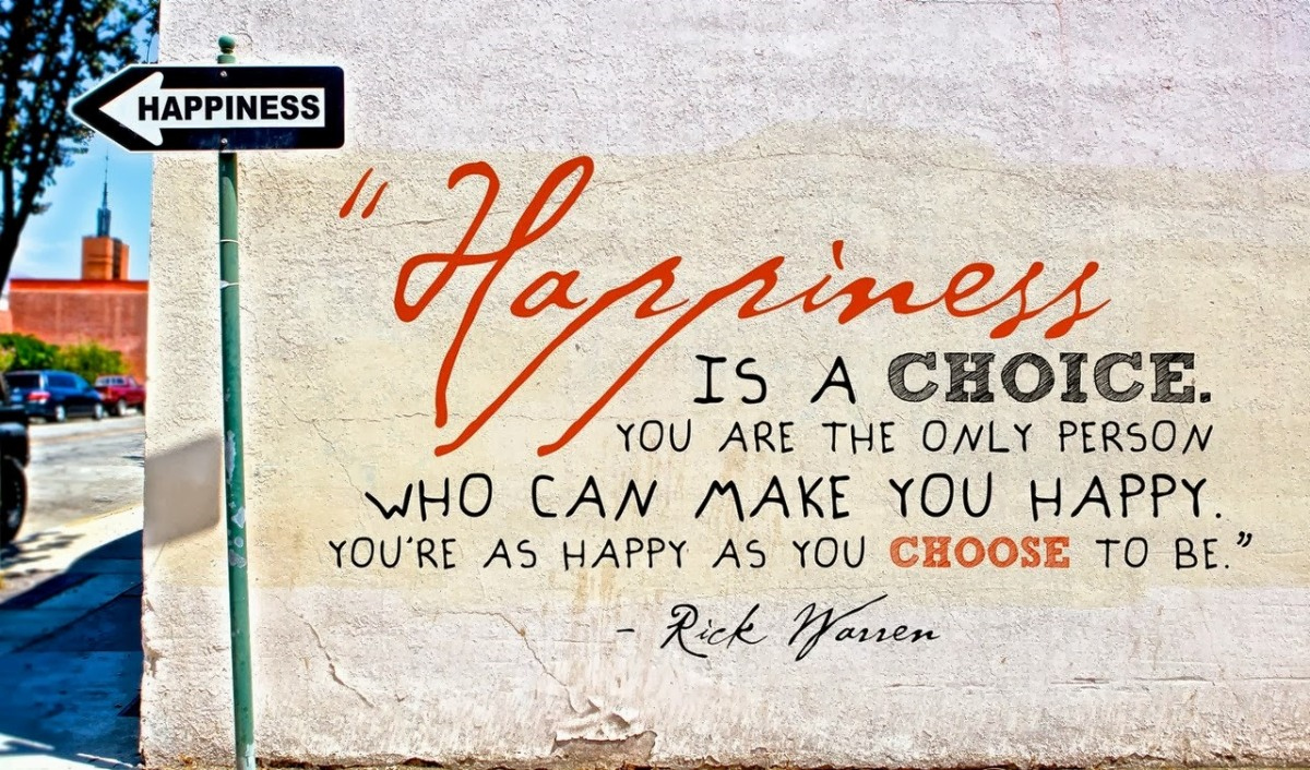 5 (not so) simple rules for happiness