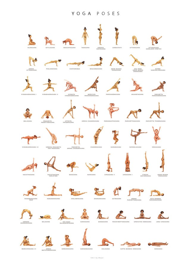Trending Yoga Posters Joyful Living