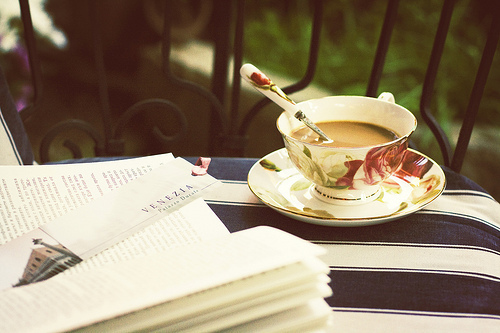 Coffee, books, reading, relaxation